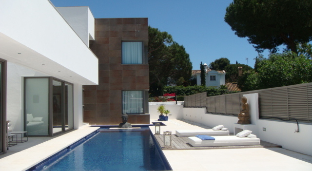 Sleek designer villa in Nagueles, Golden Mile - high end finishes and top location