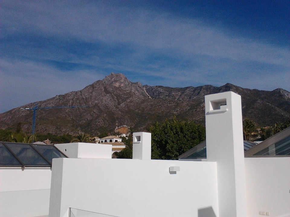 contemporary townhouses in Sierra Blanca on the golden mile - luxury finish - new build
