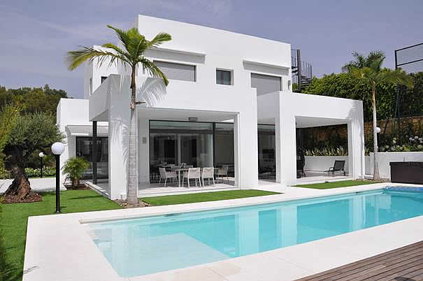 Contemporary villa for sale in La Cerquilla
