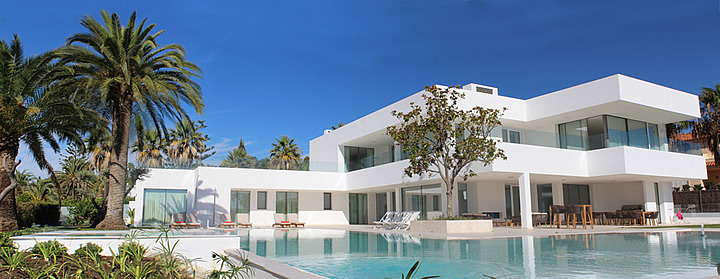 Contemporary new build villa in Nueva Andalucia Marbella