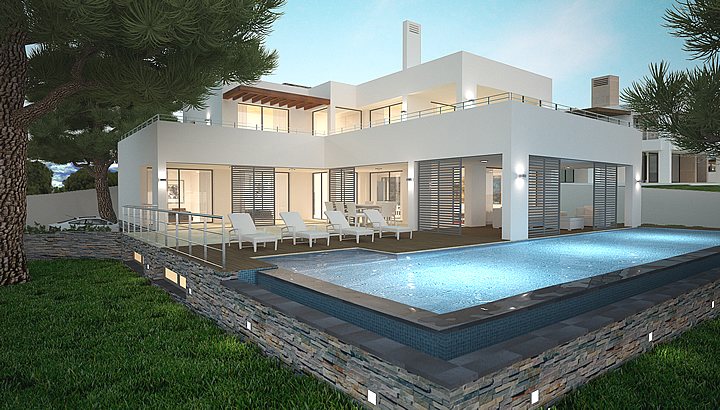 Luxury contemporary new build turnkey villas in Marbella