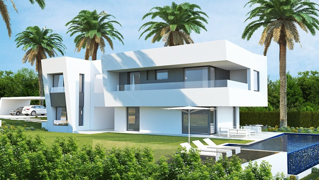 designer villa one minute from both Puente Romano and Marbella Club Hotel