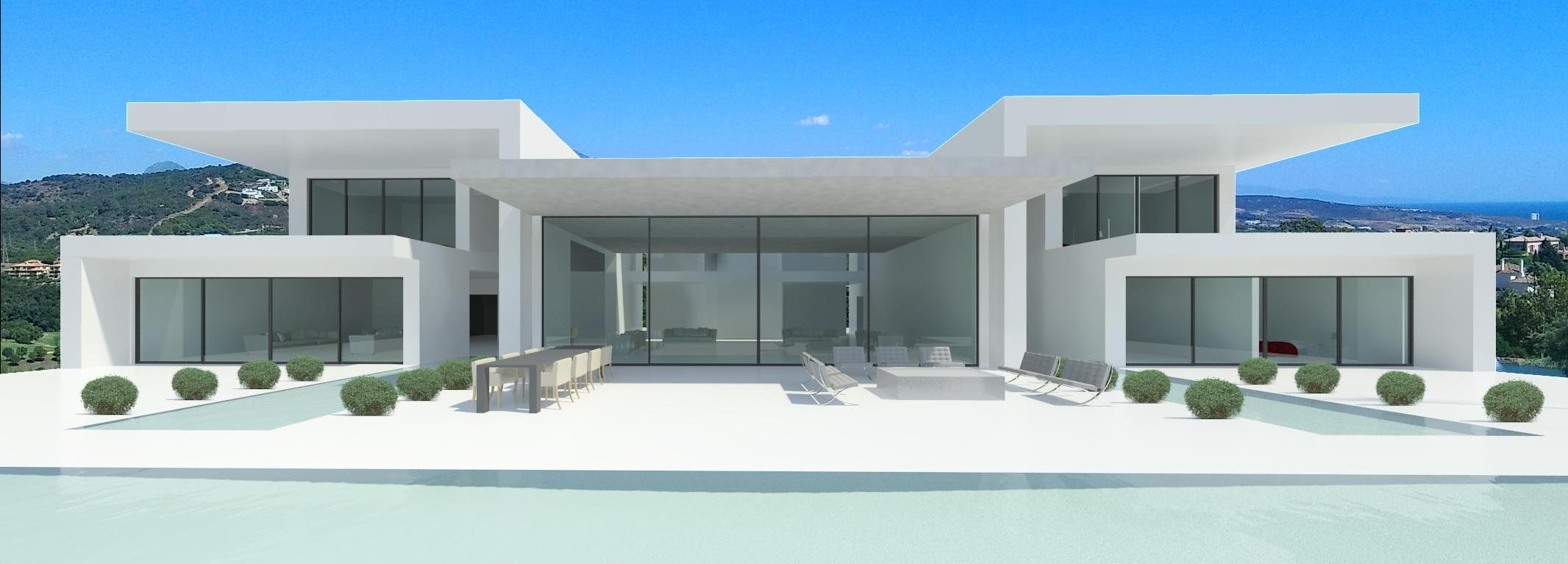 Modern new build villa Guadalmina Baja