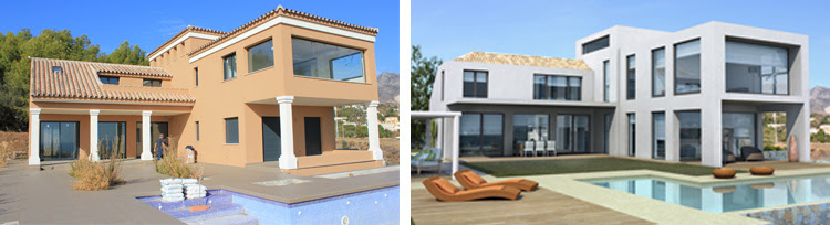 villa renovation in Costa del Sol, Marbella