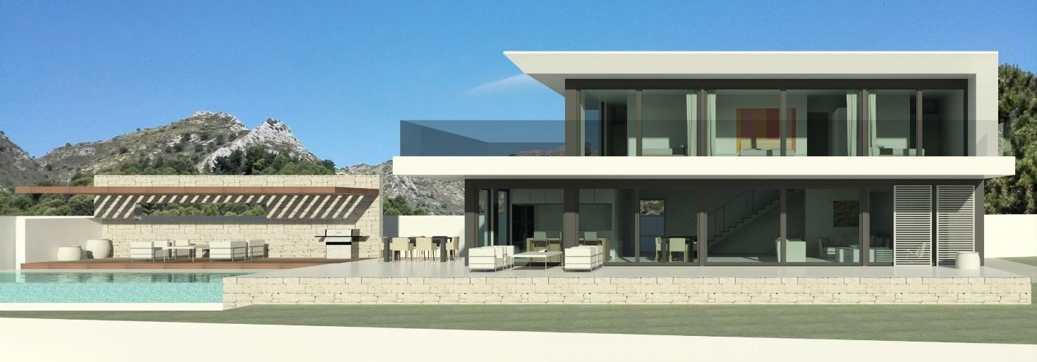 Modern turnkey villa in Elviria, Marbella, Spain