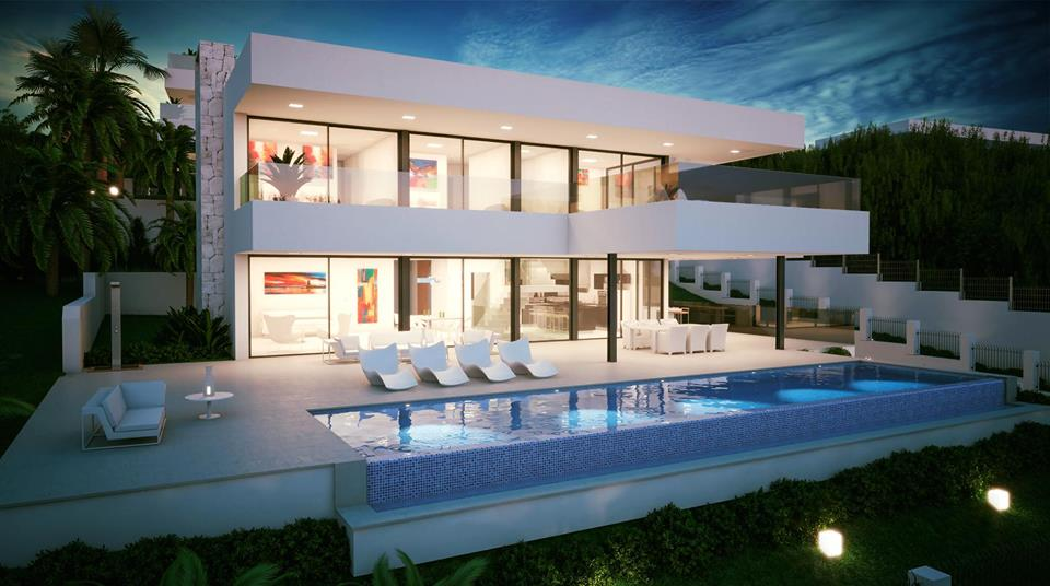 Modern villas marbella villas for sale in marbella for Sale moderne