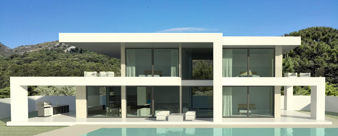 Left Wing House - Modern villa in Marbella