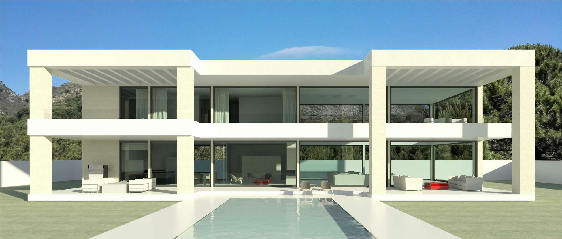 Modern new build turnkey villa in Marbella