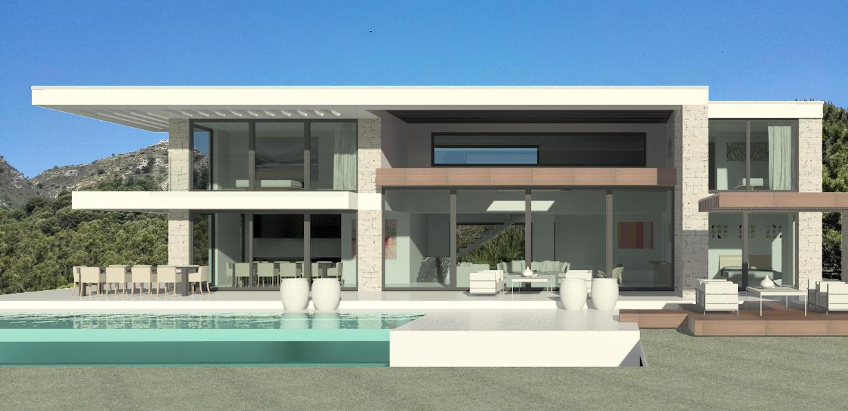 Modern villas marbella villas for sale in marbella for Villa ultra moderne