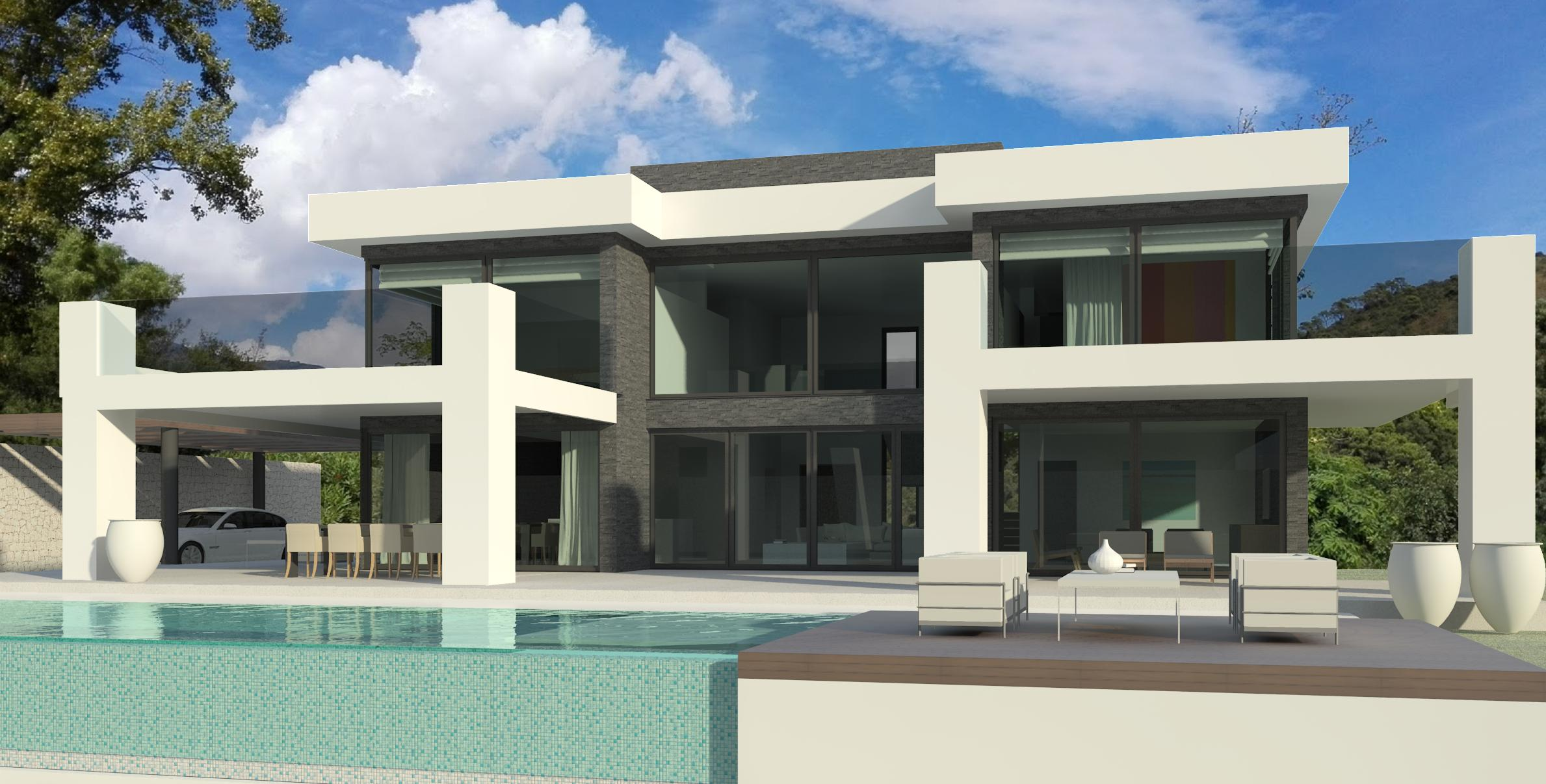 modern turnkey villa in Marbella by Norwegian builder